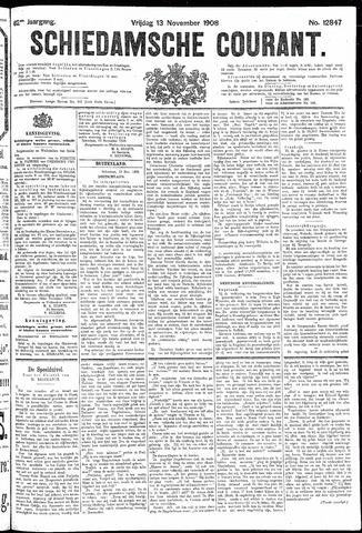 Schiedamsche Courant 1908-11-13