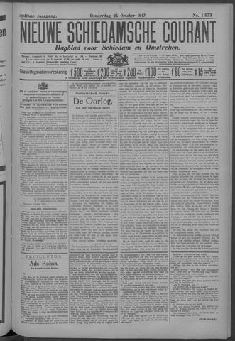 Nieuwe Schiedamsche Courant 1917-10-25