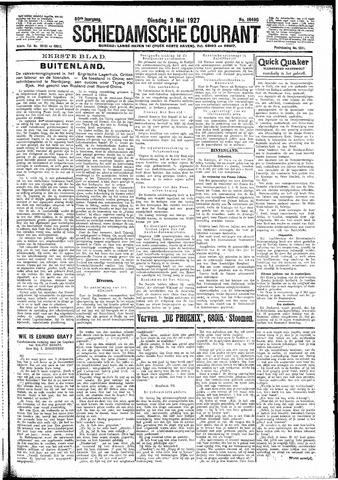 Schiedamsche Courant 1927-05-03