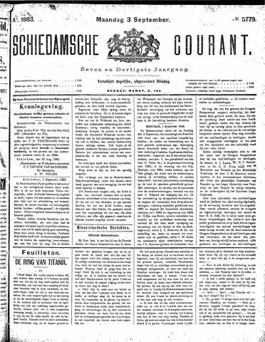 Schiedamsche Courant 1883-09-03