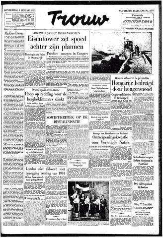 Trouw / De Rotterdammer 1957-01-03