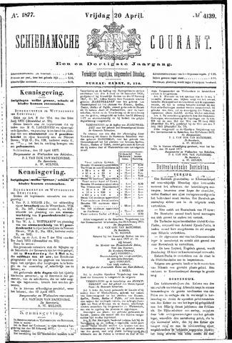 Schiedamsche Courant 1877-04-20
