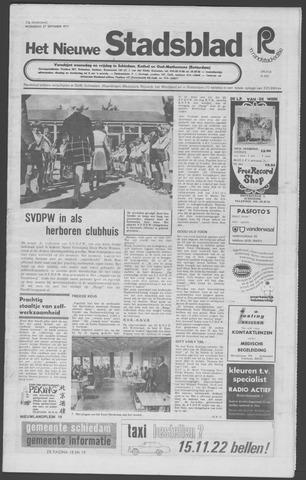 Het Nieuwe Stadsblad 1972-09-27