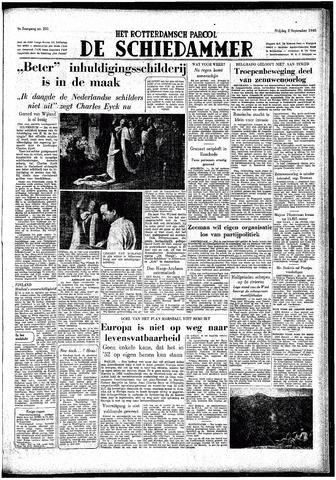 Rotterdamsch Parool / De Schiedammer 1949-09-02