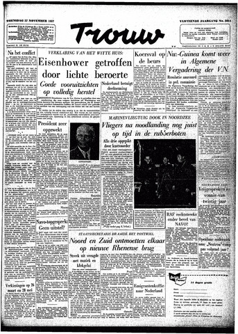 Trouw / De Rotterdammer 1957-11-27