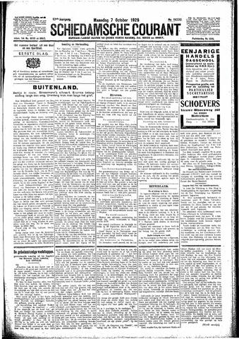 Schiedamsche Courant 1929-10-07