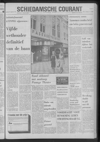 Rotterdamsch Nieuwsblad / Schiedamsche Courant / Rotterdams Dagblad / Waterweg / Algemeen Dagblad 1970-08-25
