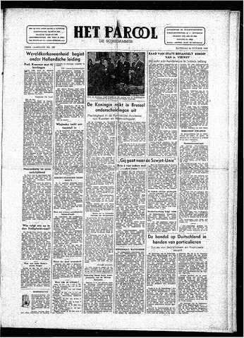 Rotterdamsch Parool / De Schiedammer 1946-10-26