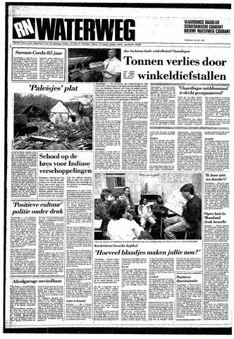 Rotterdamsch Nieuwsblad / Schiedamsche Courant / Rotterdams Dagblad / Waterweg / Algemeen Dagblad 1987-05-19