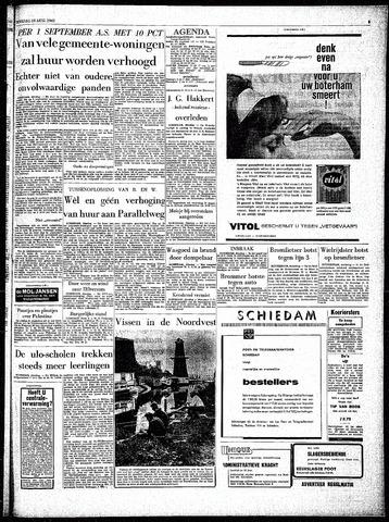Rotterdamsch Parool / De Schiedammer 1962-08-28