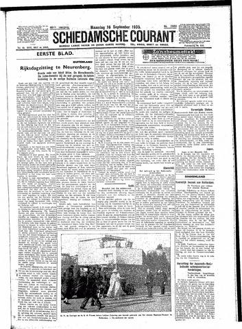 Schiedamsche Courant 1935-09-16