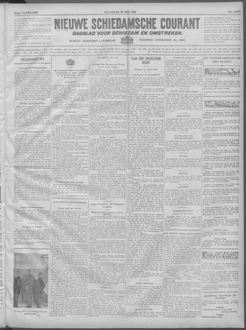 Nieuwe Schiedamsche Courant 1932-05-29