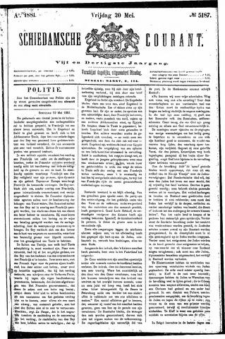 Schiedamsche Courant 1881-05-20