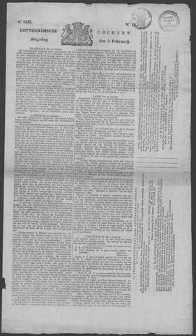 Rotterdamse Courant 1835-02-03