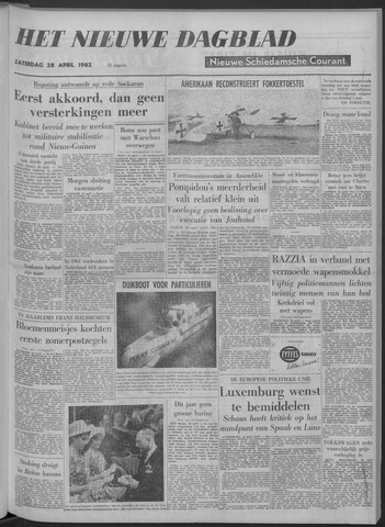 Nieuwe Schiedamsche Courant 1962-04-28
