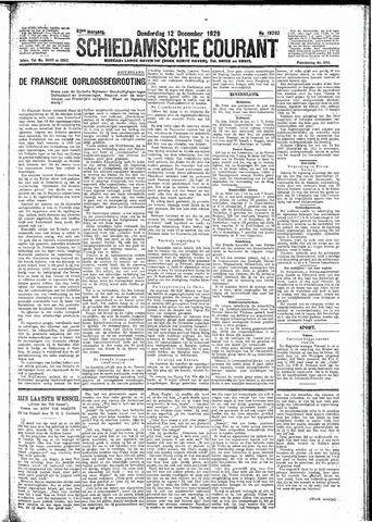 Schiedamsche Courant 1929-12-12
