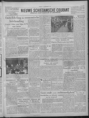 Nieuwe Schiedamsche Courant 1949-09-16