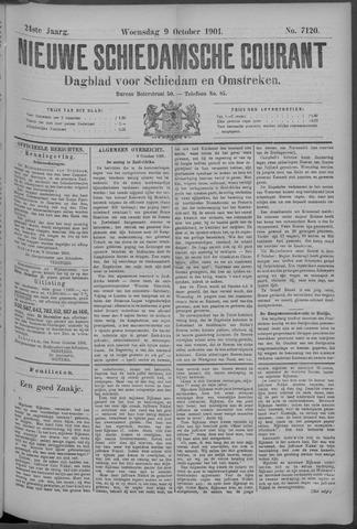 Nieuwe Schiedamsche Courant 1901-10-09