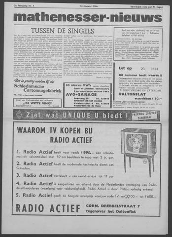 Mathenesser Nieuws 1964-02-13