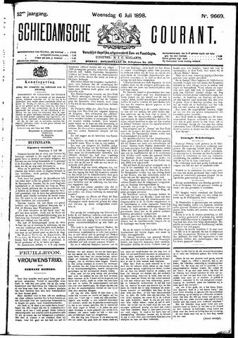Schiedamsche Courant 1898-07-06