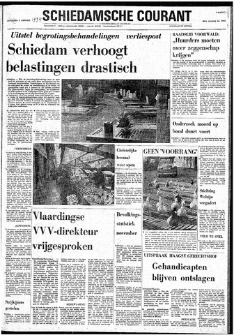 Rotterdamsch Nieuwsblad / Schiedamsche Courant / Rotterdams Dagblad / Waterweg / Algemeen Dagblad 1974-01-05