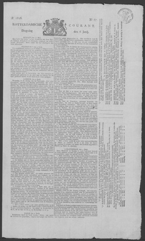 Rotterdamse Courant 1826-06-06