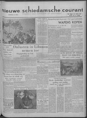 Nieuwe Schiedamsche Courant 1958-05-13