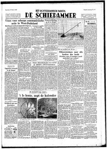 Rotterdamsch Parool / De Schiedammer 1949-03-21