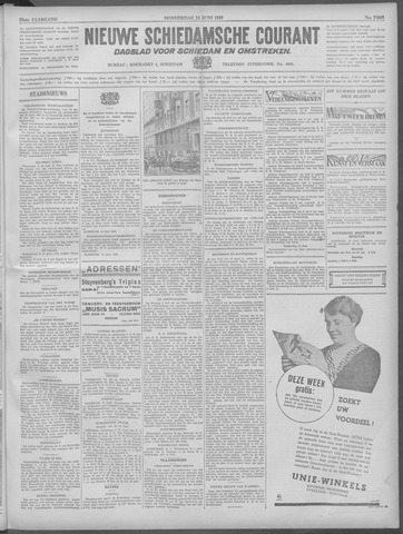 Nieuwe Schiedamsche Courant 1933-06-15