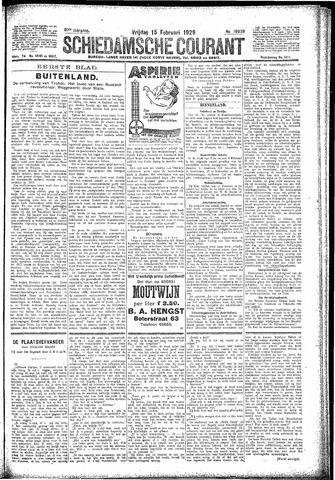Schiedamsche Courant 1929-02-15