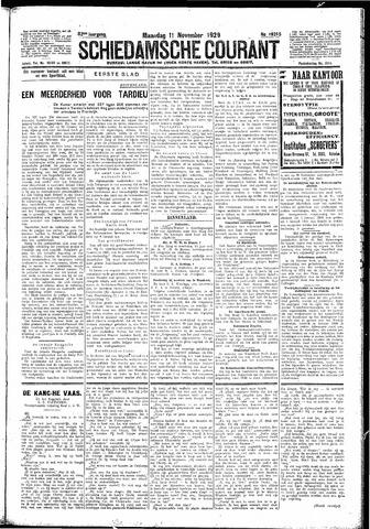 Schiedamsche Courant 1929-11-11