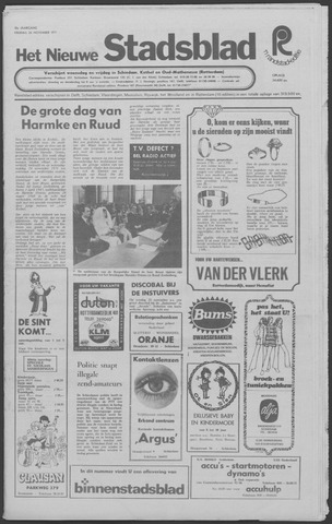 Het Nieuwe Stadsblad 1971-11-26