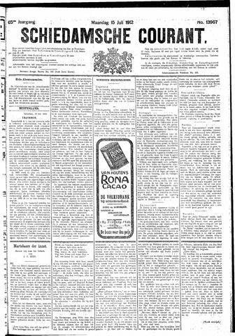 Schiedamsche Courant 1912-07-15
