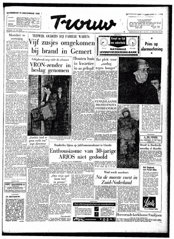 Trouw / De Rotterdammer 1959-12-12