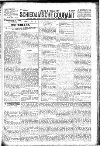 Schiedamsche Courant 1929-02-02