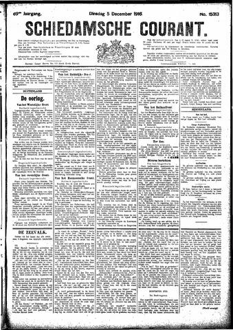 Schiedamsche Courant 1916-12-05