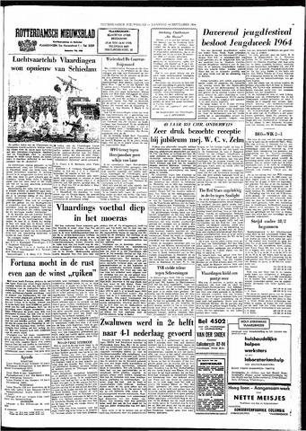 Rotterdamsch Nieuwsblad / Schiedamsche Courant / Rotterdams Dagblad / Waterweg / Algemeen Dagblad 1964-09-14