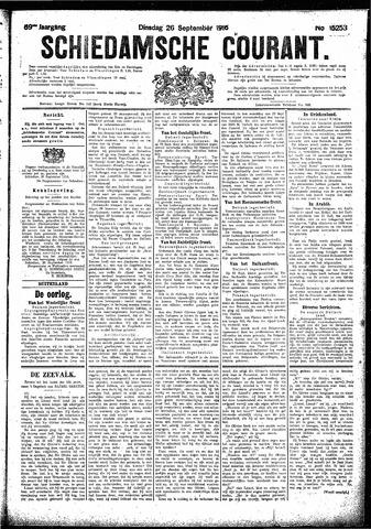 Schiedamsche Courant 1916-09-26