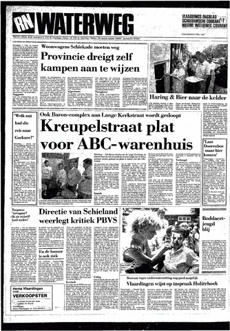 Rotterdamsch Nieuwsblad / Schiedamsche Courant / Rotterdams Dagblad / Waterweg / Algemeen Dagblad 1987-07-09