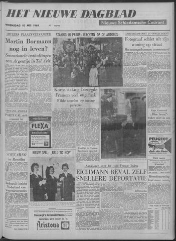 Nieuwe Schiedamsche Courant 1961-05-10
