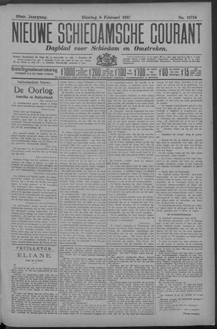 Nieuwe Schiedamsche Courant 1917-02-06