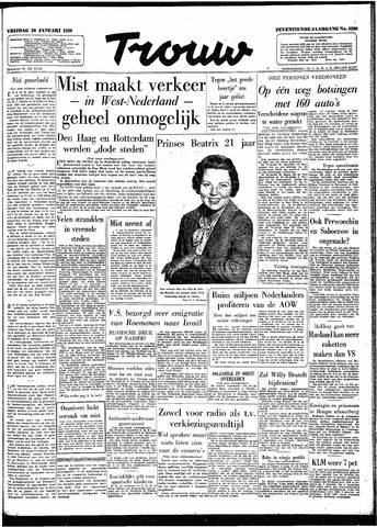 Trouw / De Rotterdammer 1959-01-30