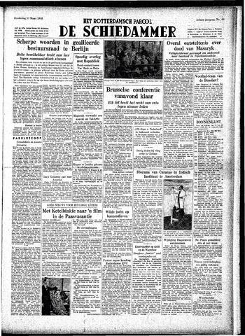 Rotterdamsch Parool / De Schiedammer 1948-03-11