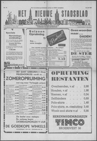 Het Nieuwe Stadsblad 1951-07-13
