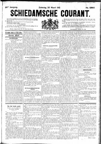 Schiedamsche Courant 1912-03-30
