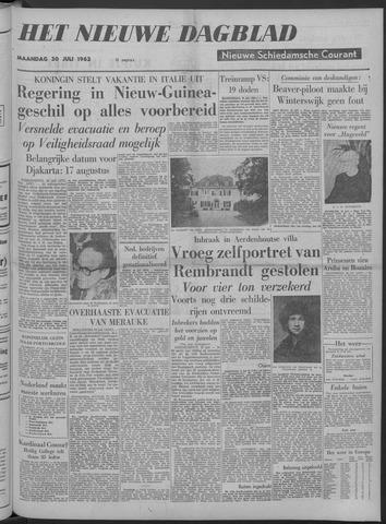 Nieuwe Schiedamsche Courant 1962-07-30