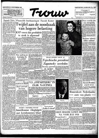 Trouw / De Rotterdammer 1957-11-13