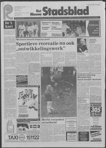 Het Nieuwe Stadsblad 1983-10-07