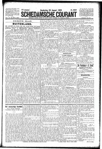 Schiedamsche Courant 1929-01-24