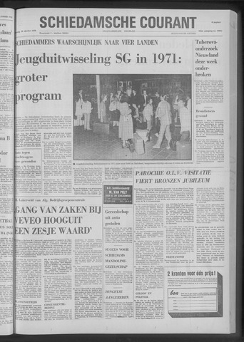 Rotterdamsch Nieuwsblad / Schiedamsche Courant / Rotterdams Dagblad / Waterweg / Algemeen Dagblad 1970-10-20
